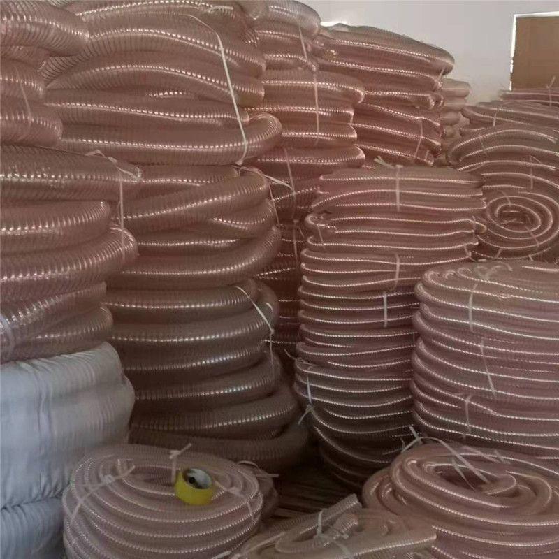 pu耐磨鋼絲繩鎖吸塵管A小江鎮pu耐磨鋼絲繩鎖吸塵管Apu耐磨鋼絲繩鎖吸塵管廠家