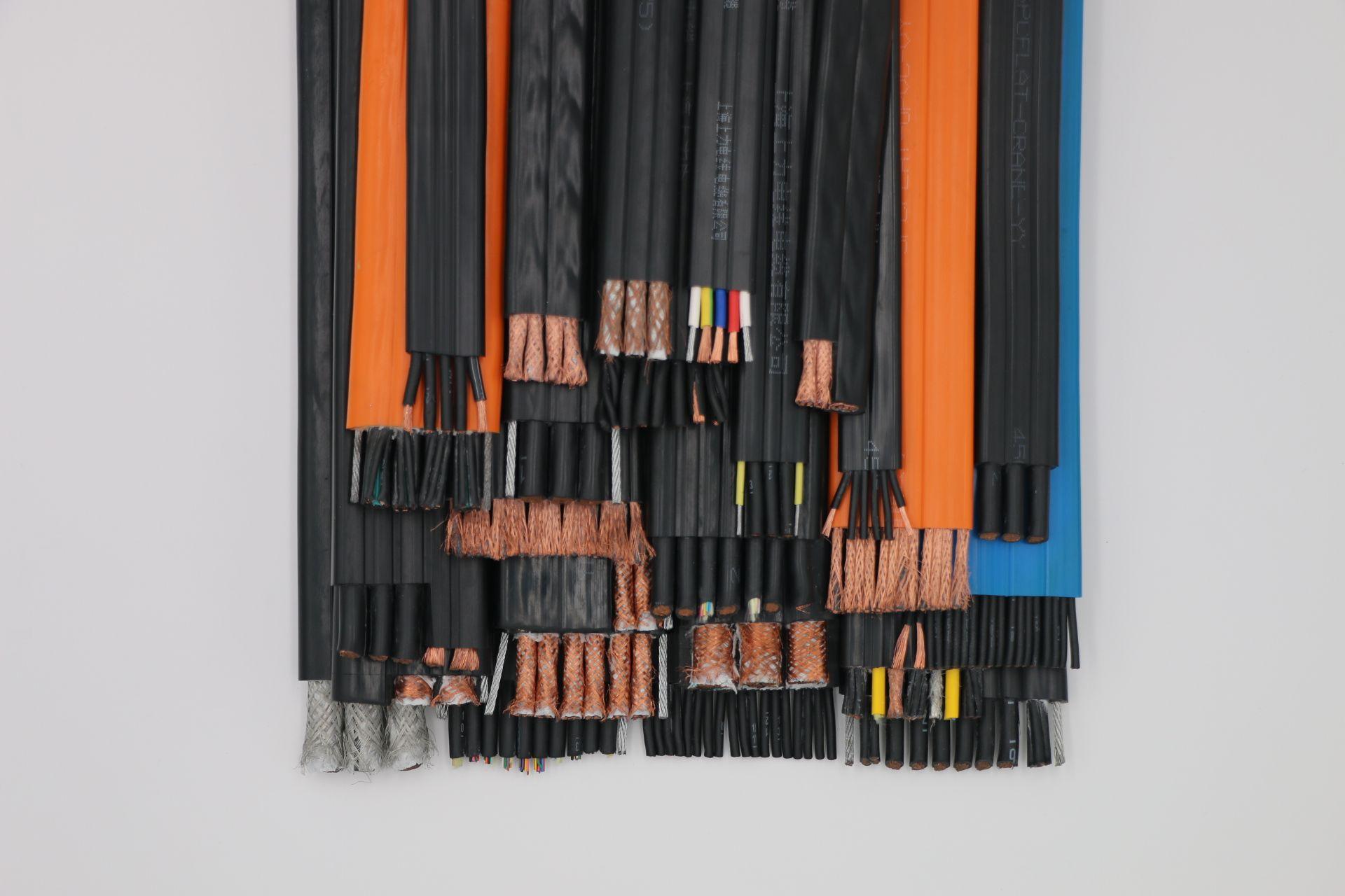 YFFB行车扁电缆  SPCFLAT-CRANE-YY行车扁电缆