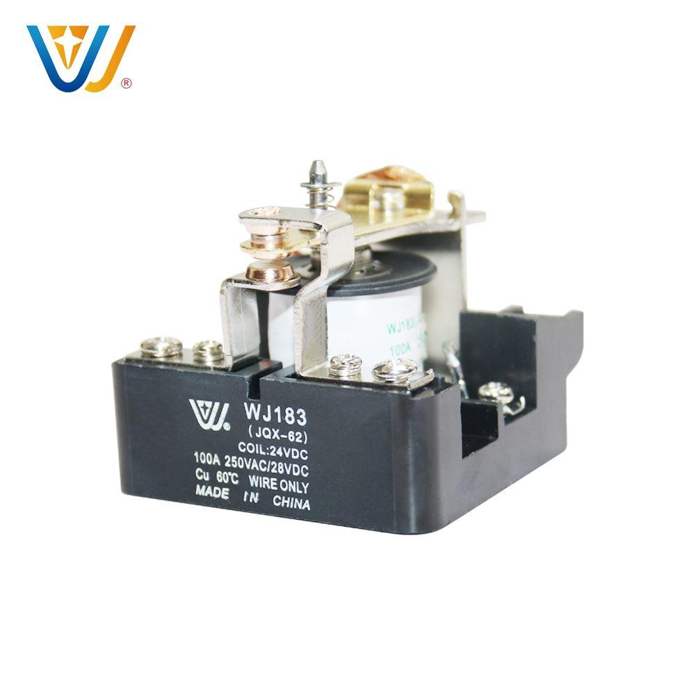 万佳之星热销12V/100A螺钉固定安装JQX-62大功率继电器
