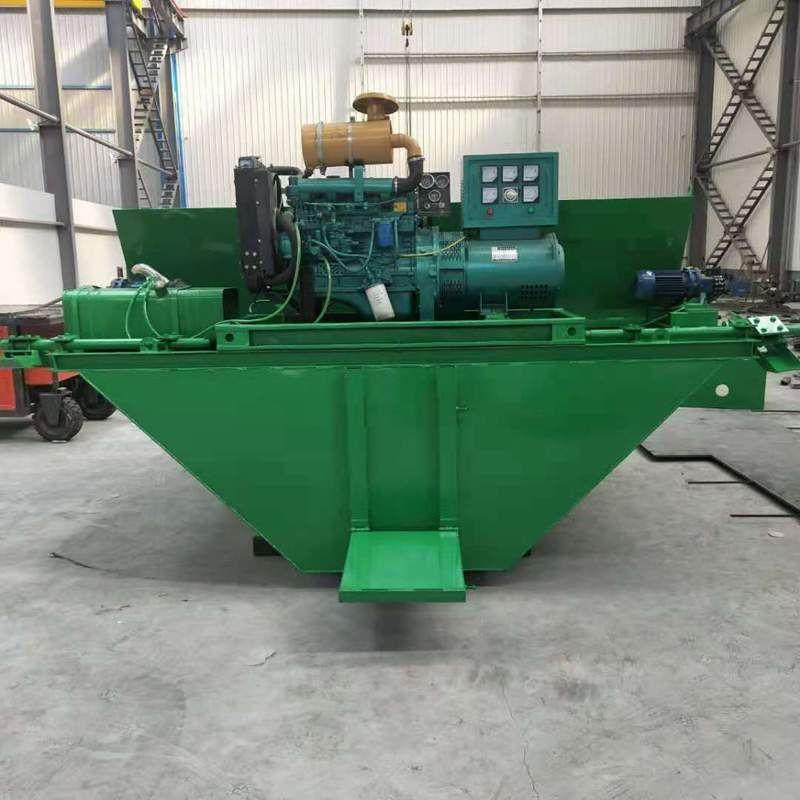 挖沟排水沟水渠滑模机 液压自走渠道成型机