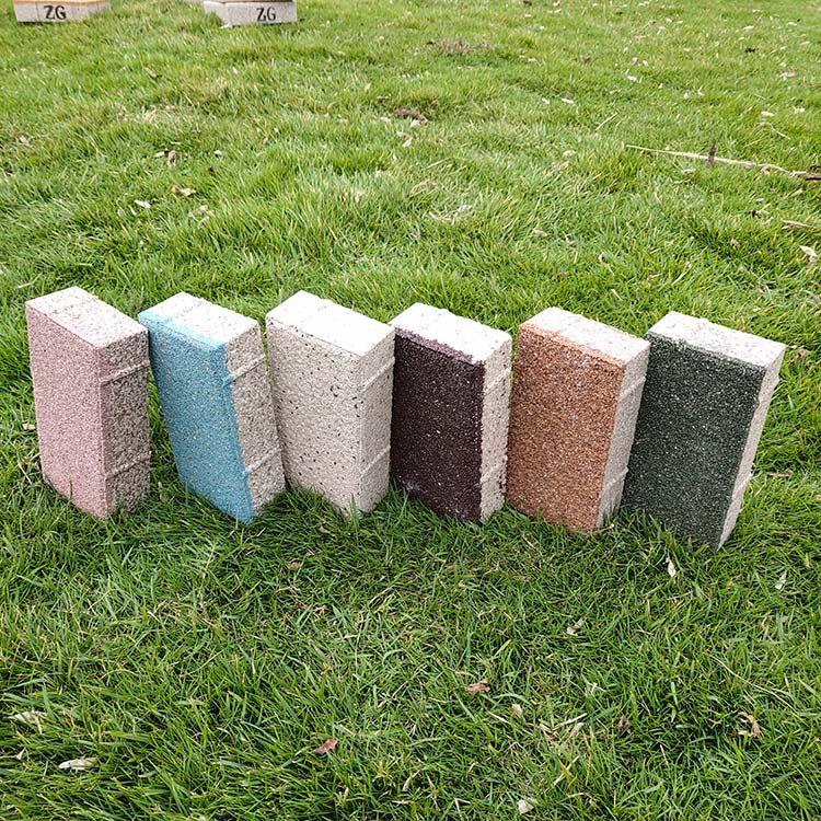 陶瓷透水砖厂家 陶瓷颗粒透水砖支持定制品质保证