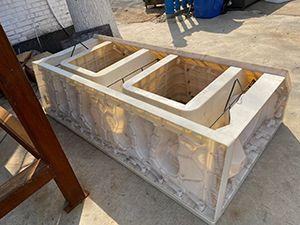 箱式阶梯护坡模具-生态阶梯护岸模具