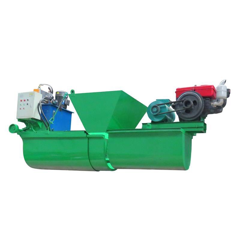 边沟成型机 挖沟排水沟水渠滑模机 液压自走渠道成型机