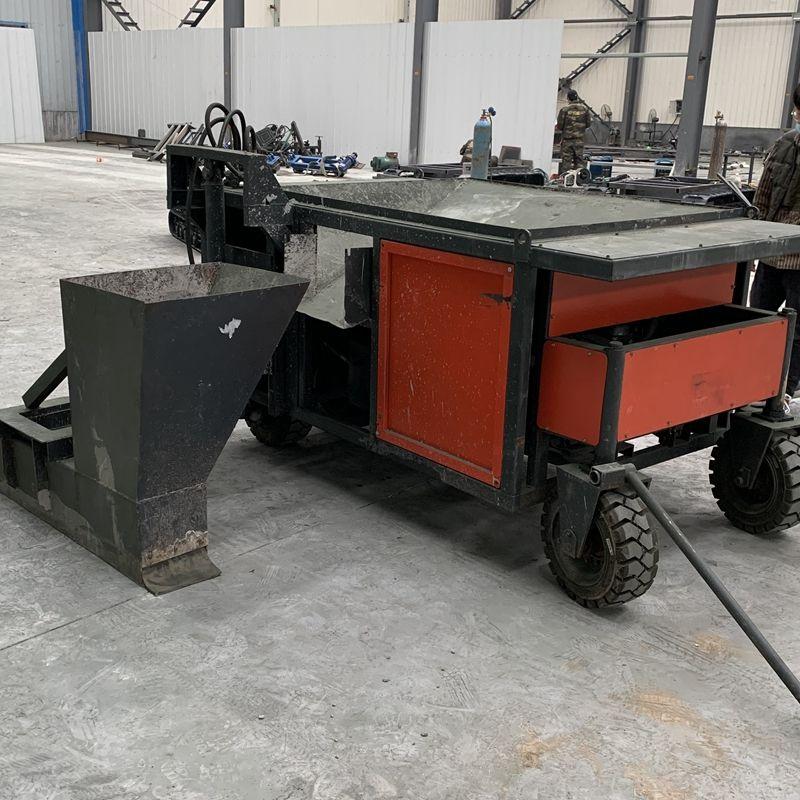 建筑工地路缘石成型机 多功能路面滑模机