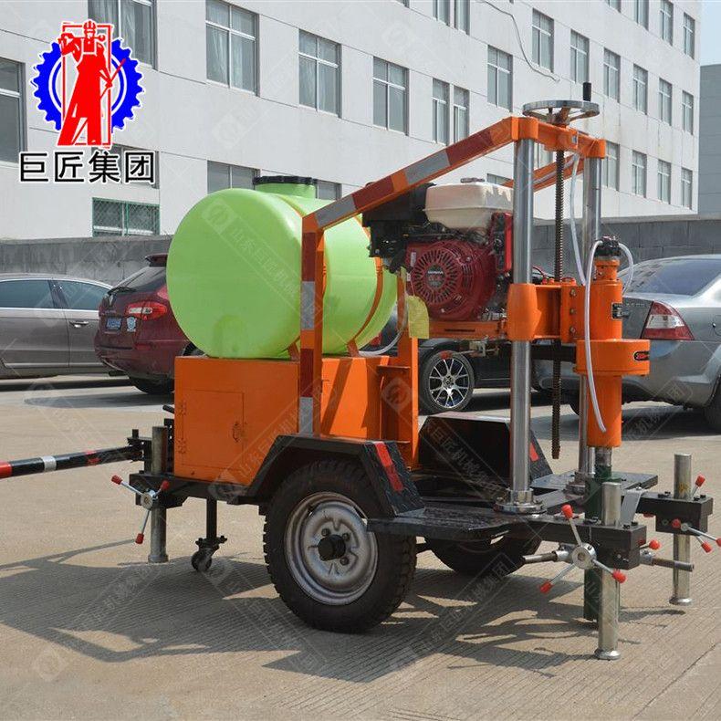 HZQ-20T拖挂式混凝土钻孔取芯机 打桩机建筑工程打桩机