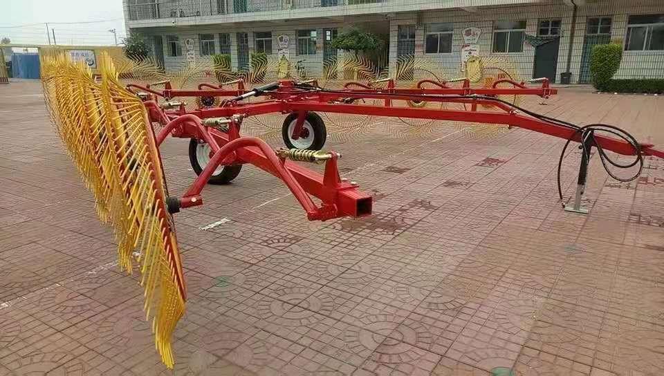 圆盘搂草机 操作方便搂草机 小麦秸秆地膜自动搂地机