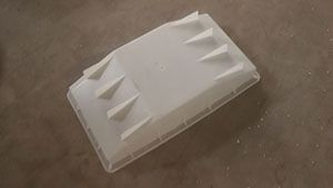 隧道电缆沟盖板模具-电缆沟预制盖板模具