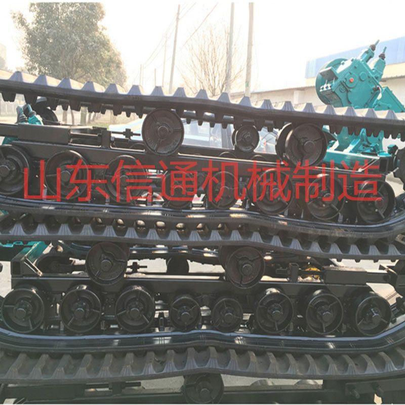 厂家供应液压橡胶履带底盘 农机履带底盘 橡胶履带底盘加工现货