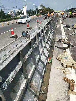 桥梁防撞墙设计-钢筋混凝土防撞墙