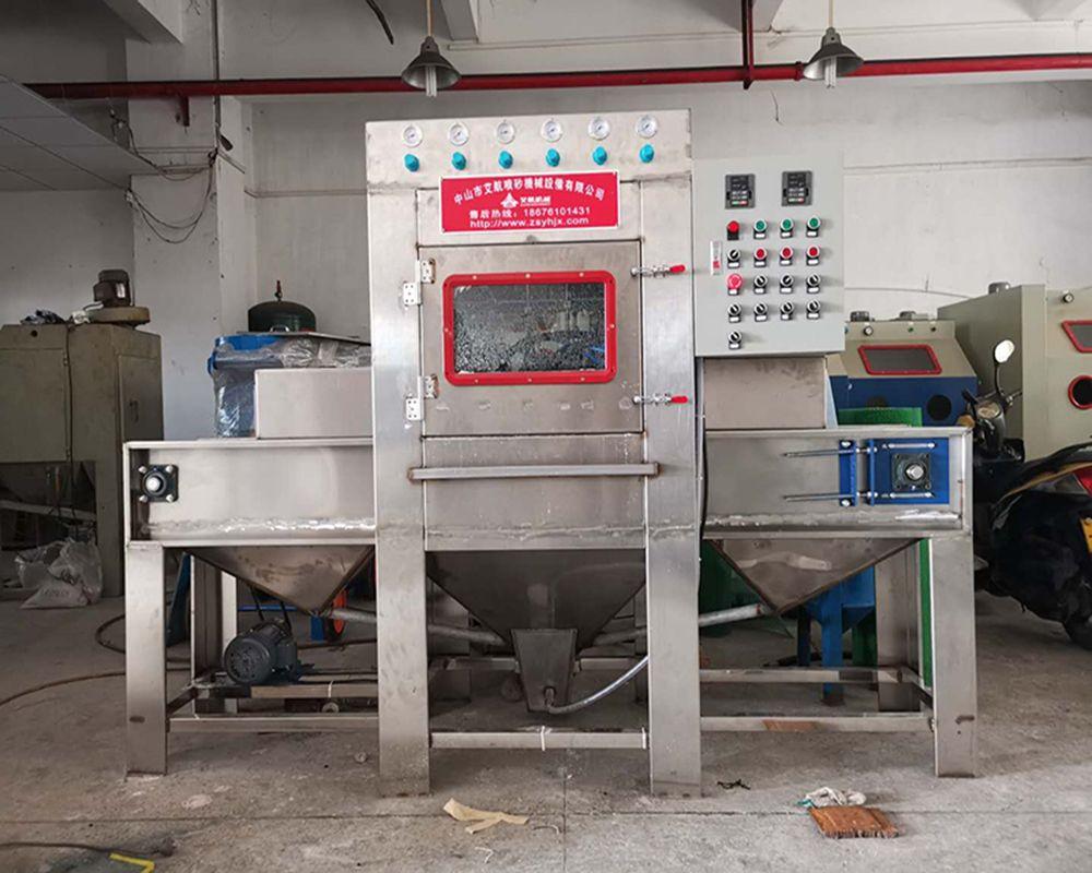 定制非标无尘喷砂机 龙岩自动水喷砂机 喷砂设备厂家