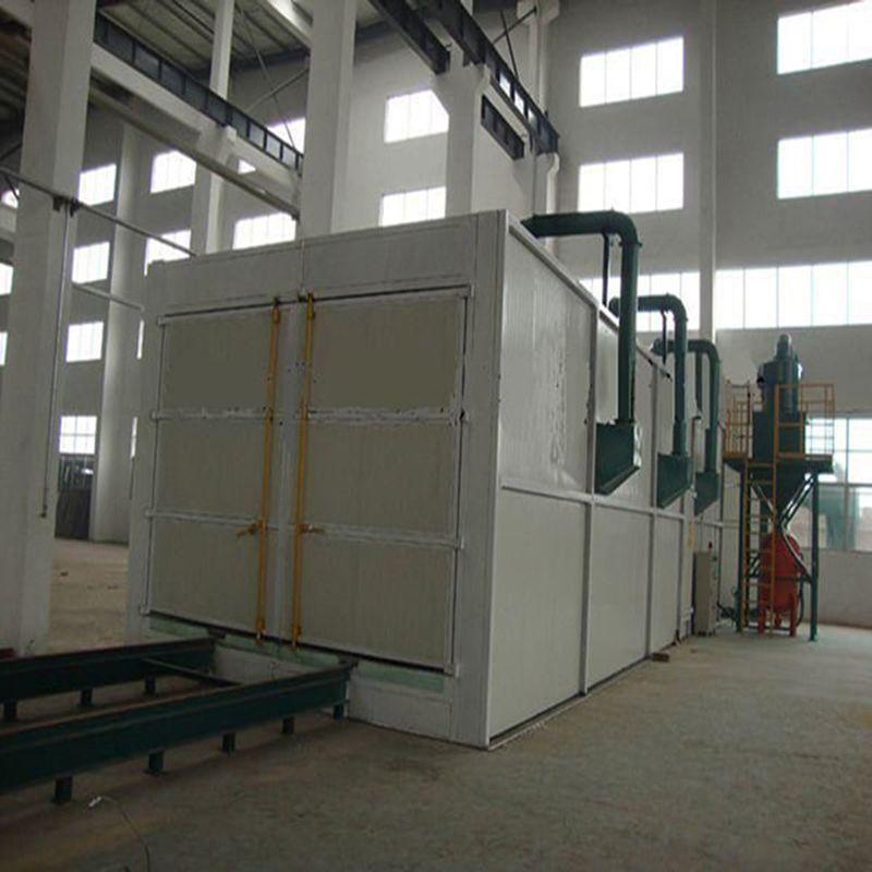 龙岩喷砂设备 热水器内胆表面处理 简易式喷砂房