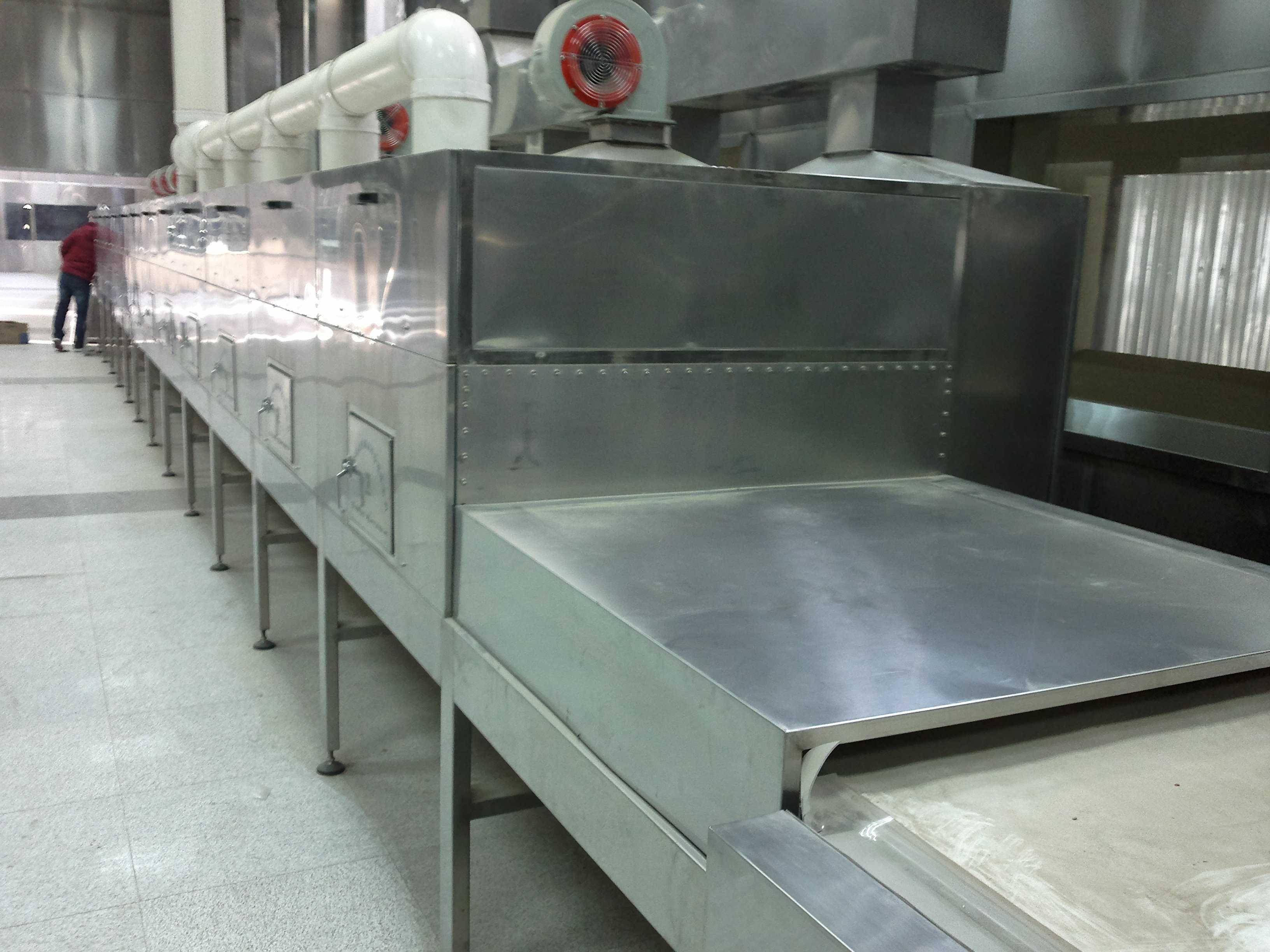 微波五谷雜糧低溫烘焙設備廠家康來機械