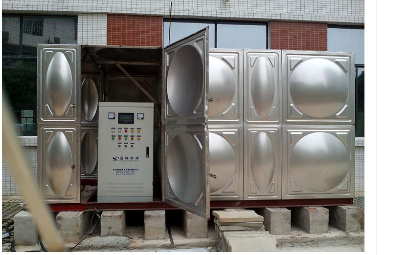 箱式一体化泵房专业定制型号齐全消防认证厂家直供