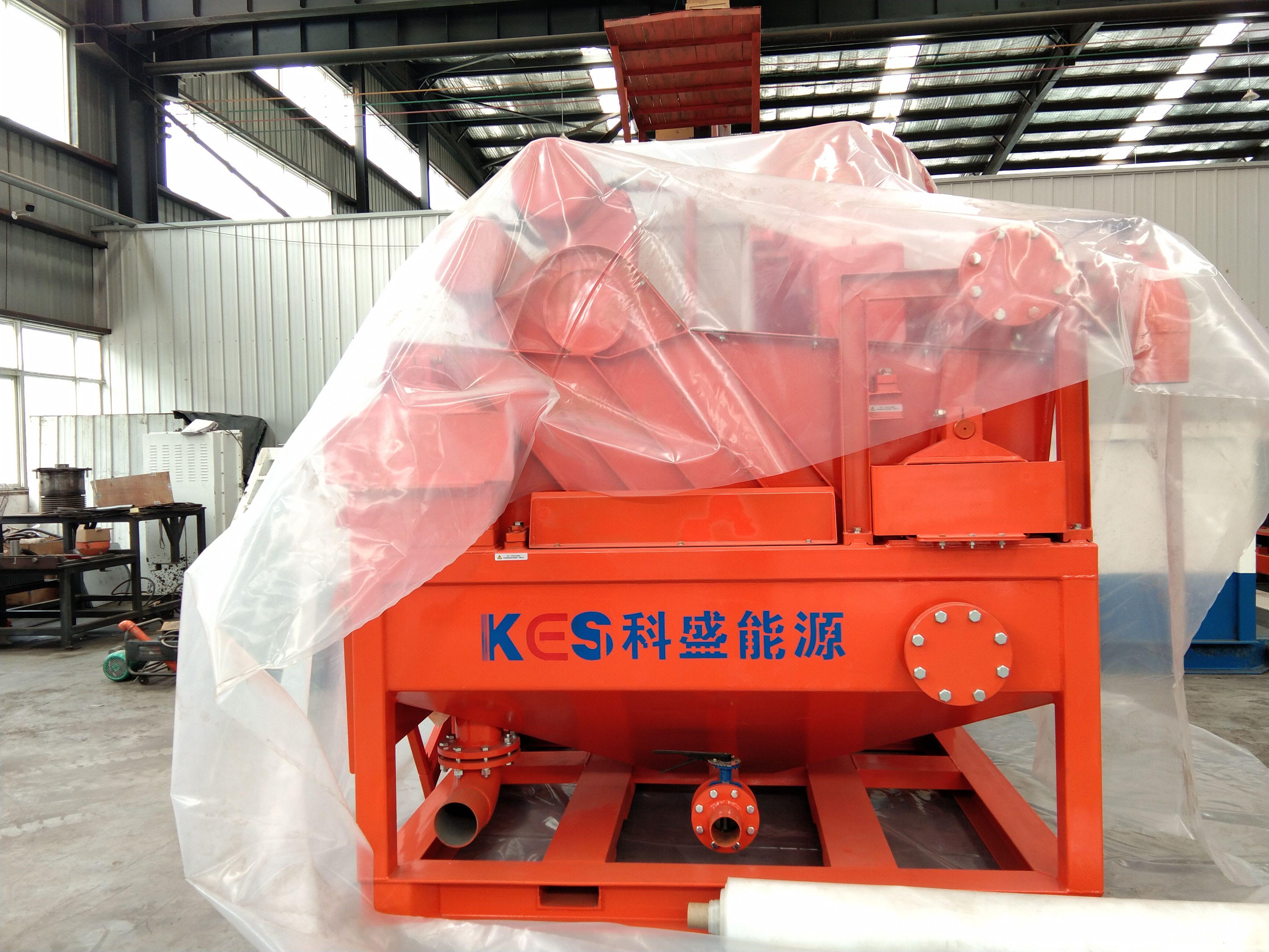 科盛固控 打桩 顶管泥水分离设备KAN260-60 泥浆净化回收系统设备