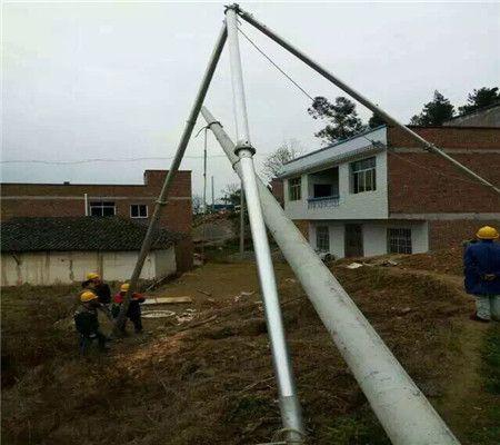 金属抱杆 铝合金人字立杆机 铝合金三角抱杆 立杆机 人字抱杆