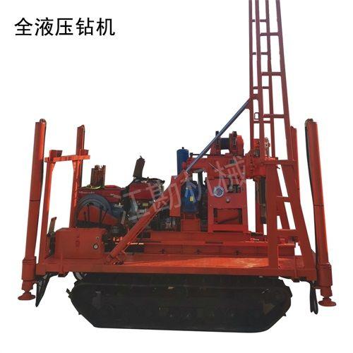 察打一体北探250型钻机详细说明 低速打井钻孔设备