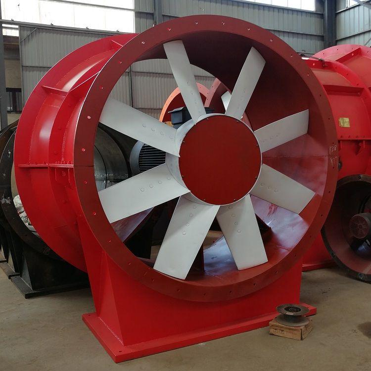 K45矿山风机金属矿轴流风机