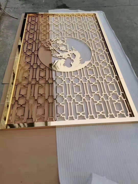 厂家定制不锈钢批发铝雕批发 酒店商场定制款批发