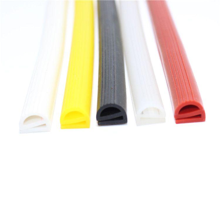 硅胶E型条 硅橡胶e字条耐高温烘箱密封条