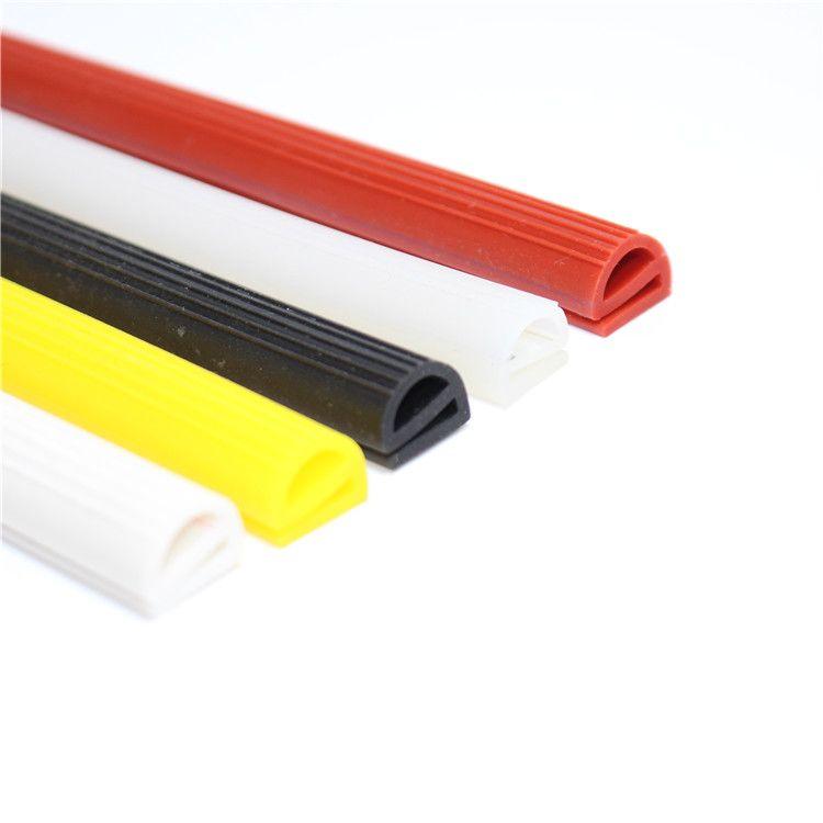 硅胶E型条 硅橡胶e字条耐高温烤箱烘箱密封条