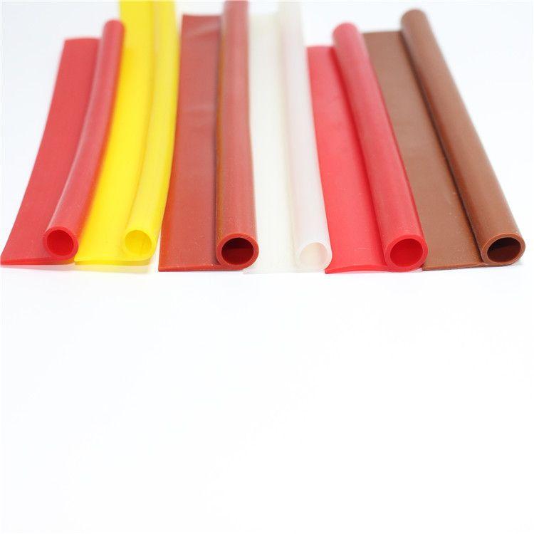 9字橡胶密封条耐高温烤箱蒸箱硅胶条P型烘箱橡胶条