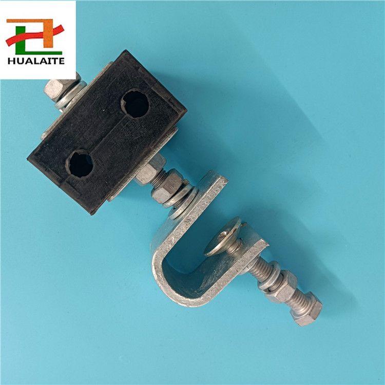 实拍塔用ADSS引下线夹,专业光缆金具厂家生产,品质保证