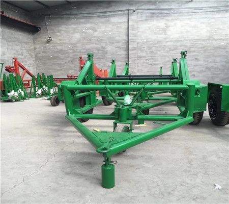 电缆盘托运车 液压电缆放线车 机械电缆拖车 分体式电缆拖车