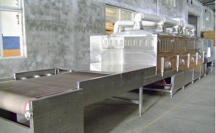 微波隧道式丹皮干燥烘干設備