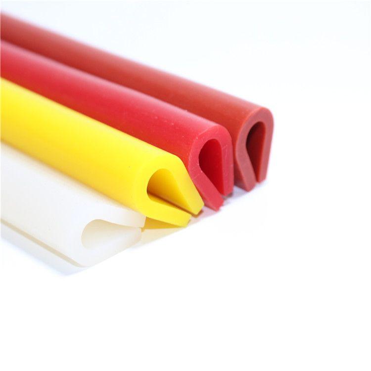 硅胶U型密封条包边条耐高温机械设备封边条