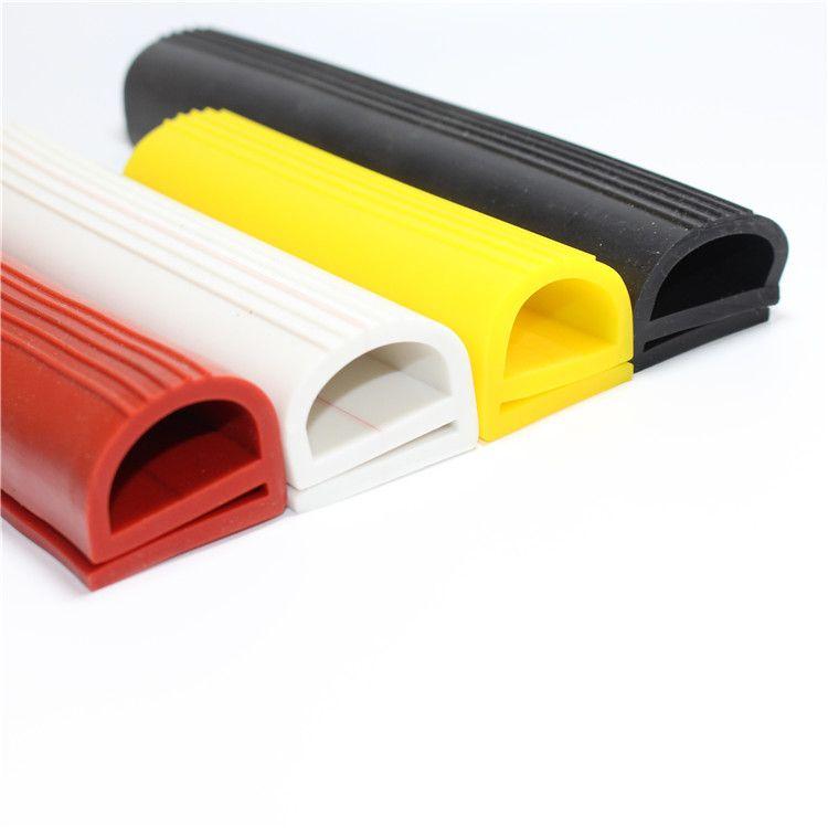 E型条 硅橡胶e字条耐高温烤箱烘箱密封条