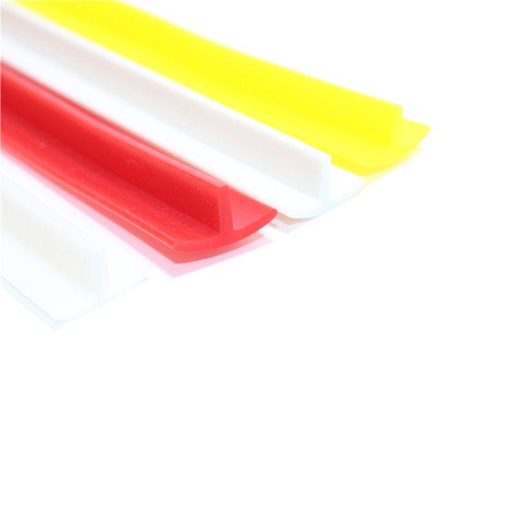 T卡槽型耐高温胶条硅胶密封卡条防风防水防撞硅胶条