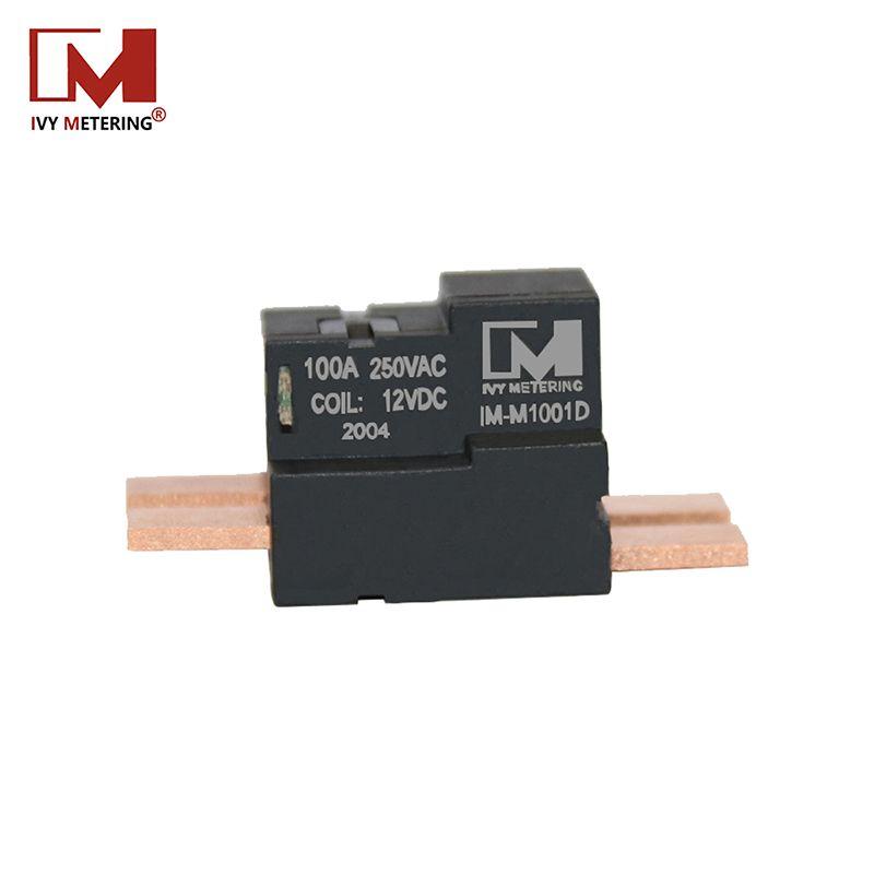 廠家推薦100A雙穩態電機式繼電器常閉智能電表兩路馬達保持繼電器