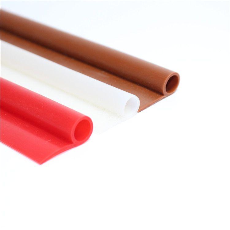 抗氧化硅胶P型密封条 耐磨损防撞硅橡胶条