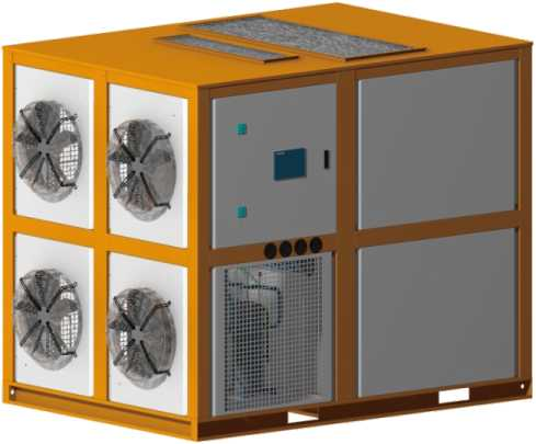 整體式熱泵烘干機(后送風)