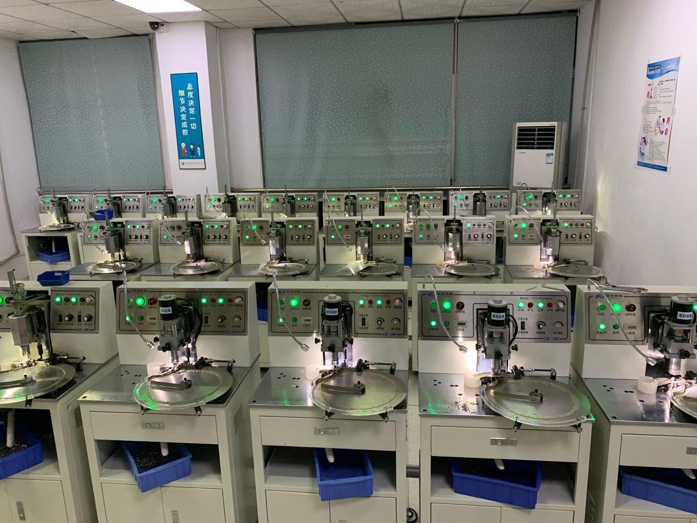 深圳聯科封邊機、出售咪頭組裝機、聯科精密咪頭極化儀、公明咪頭生產設備