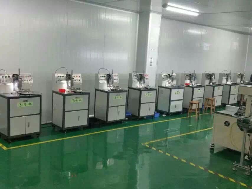 咪頭自動封口機、深圳聯科封邊機、咪頭組裝機、咪頭極化儀、咪頭生產設備