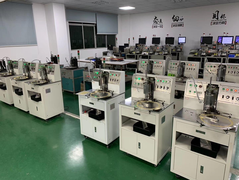 聯科咪頭組裝機、深圳咪頭生產設備、聯科機械