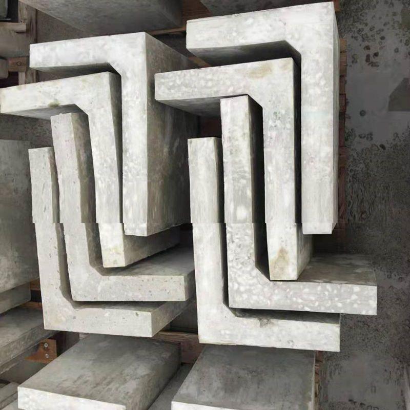L型挡渣块模具应用-L型挡渣块模具特点