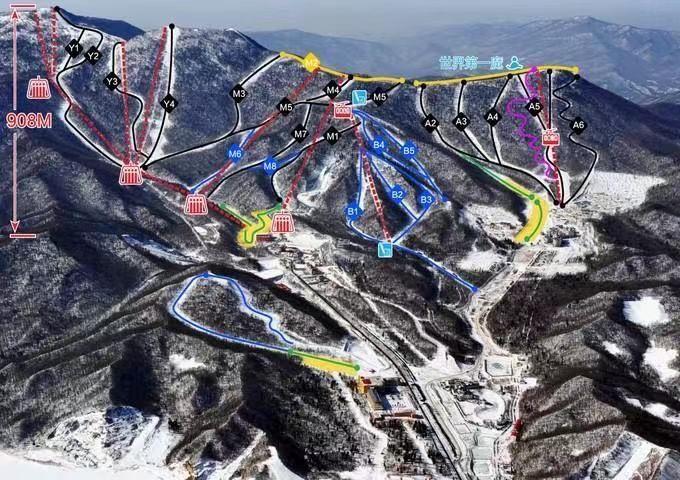 北京滑雪場景區規劃及二次改擴建銷售