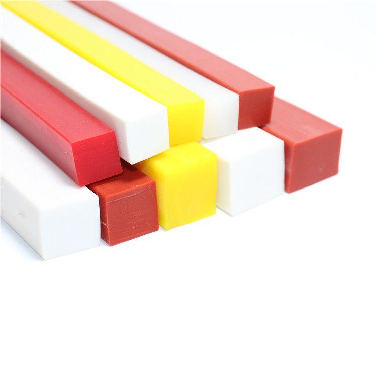 彩色方形 耐高温硅胶密封条各种机械设备密封条