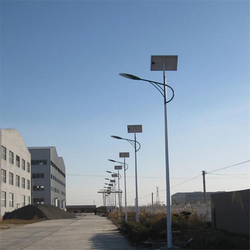 5米6米7米30W 太阳能路灯  led新农村道路户外照明