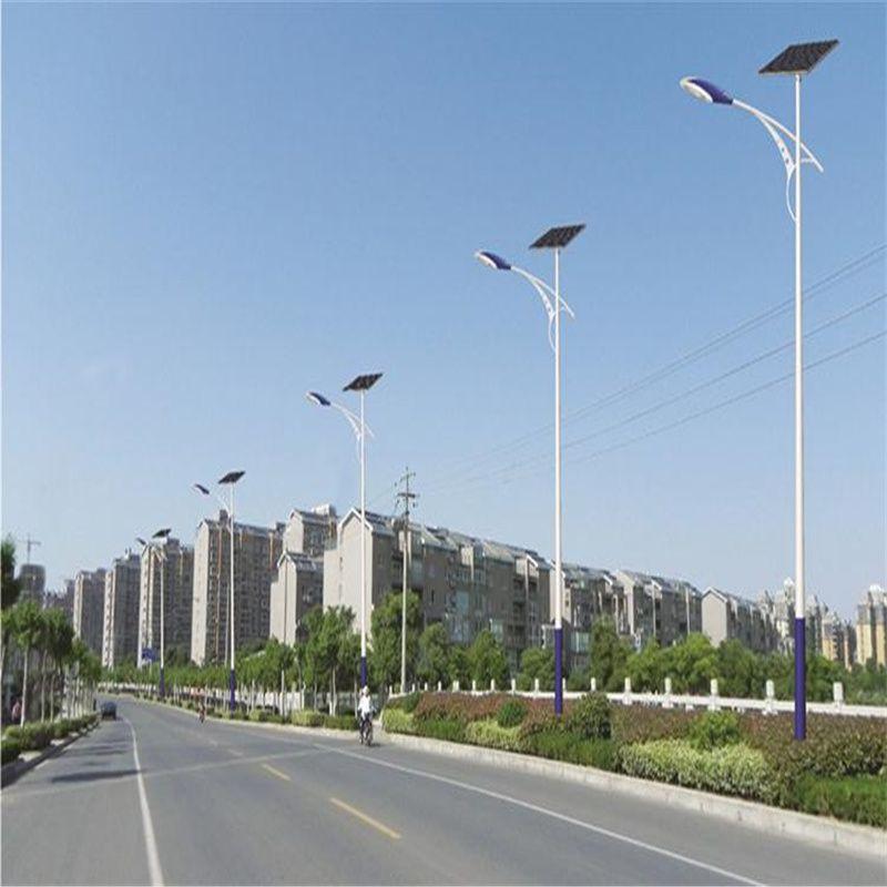 太阳能路灯LED 8米40W太阳能路灯生产厂区用 路灯图片