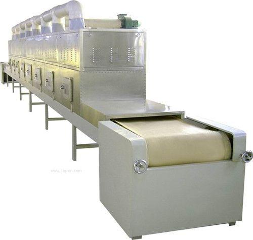 連續式微波蒲公英殺青烘烤干燥設備