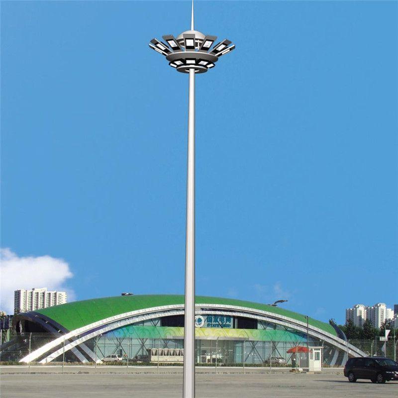 高杆灯厂家定制 15-40米可升降式中高杆灯 广场球场机场LED高杆灯