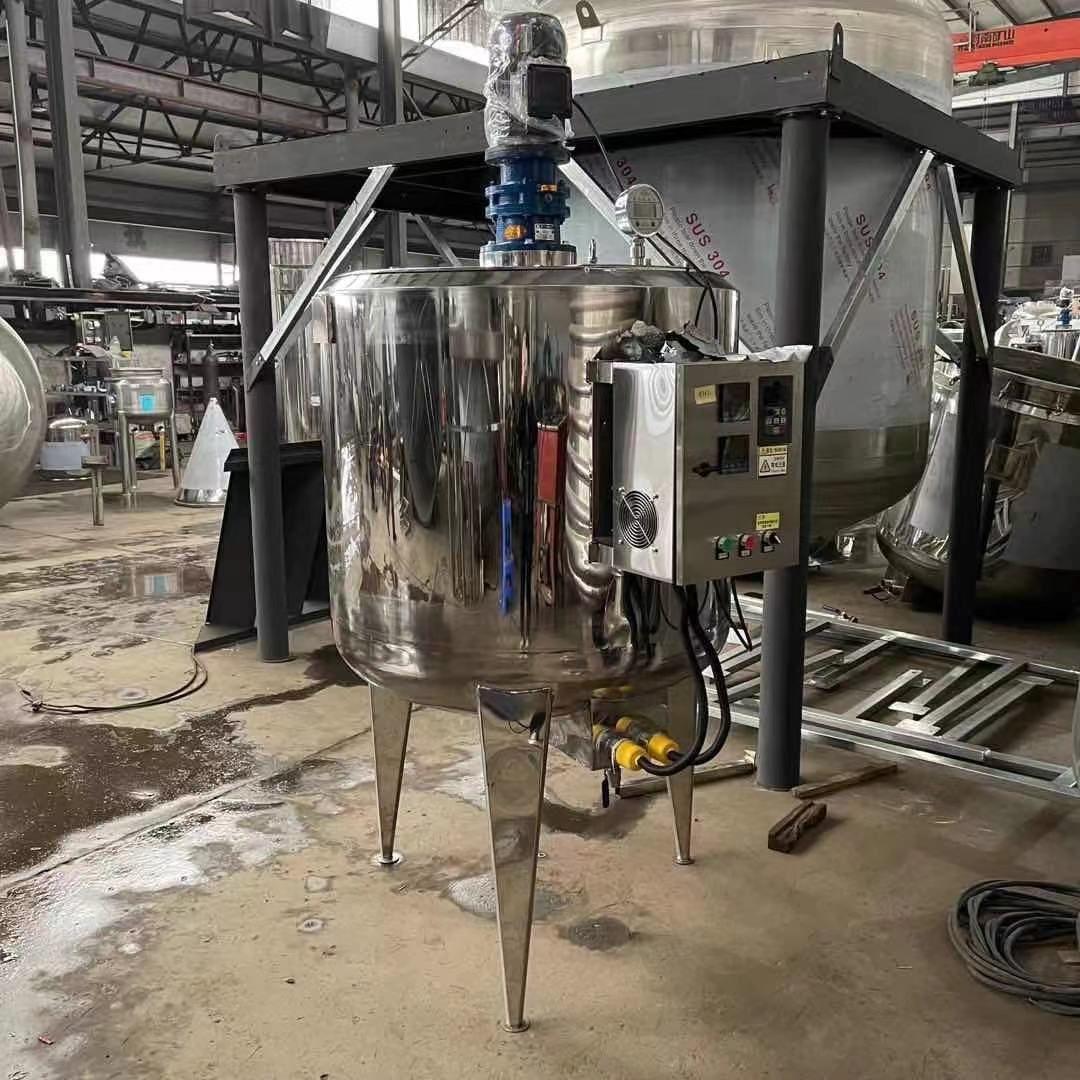 化工電加熱反應釜恒溫電加熱不銹鋼攪拌桶加熱儲罐