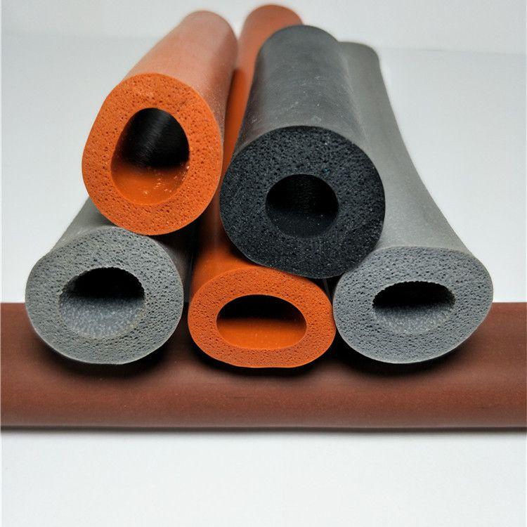 耐高温海绵软胶条 O型硅胶条 硅胶圆管