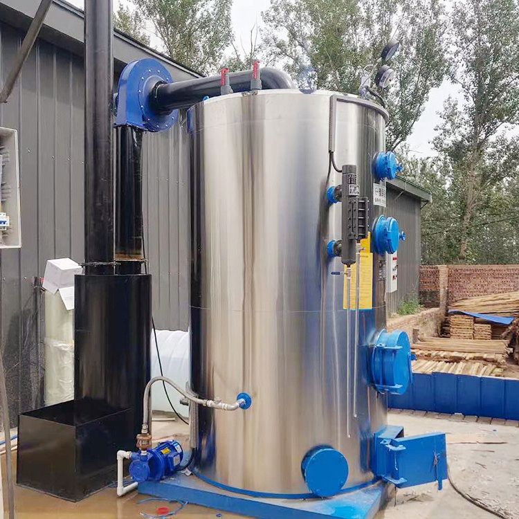 河南生物质蒸汽发生器 0.5吨立式蒸汽发生器现货供应