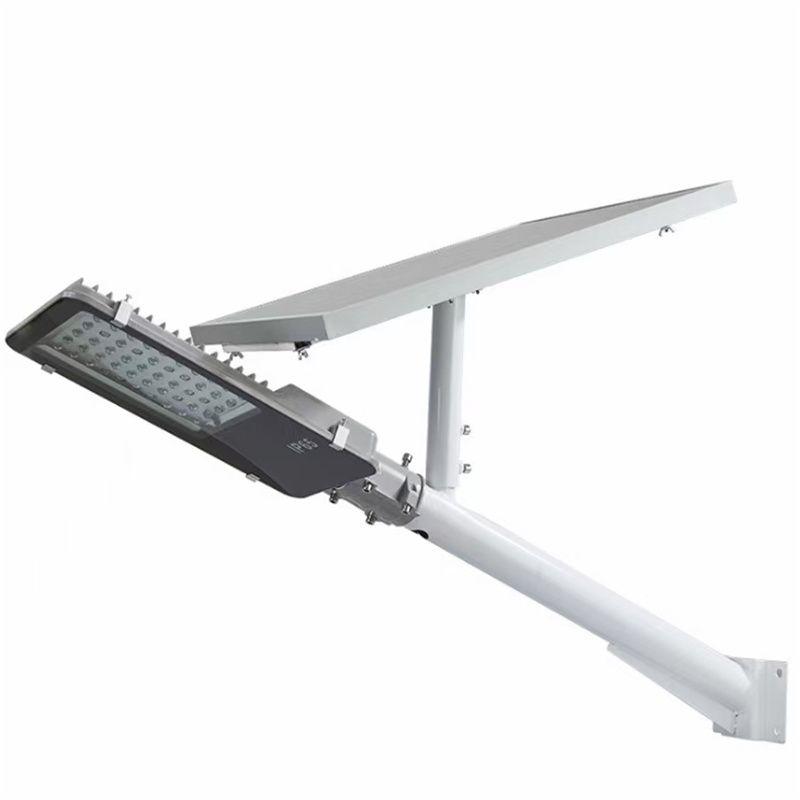 工程墙太阳能挑臂壁灯 200w 400w新农村户外自动照明智能路灯