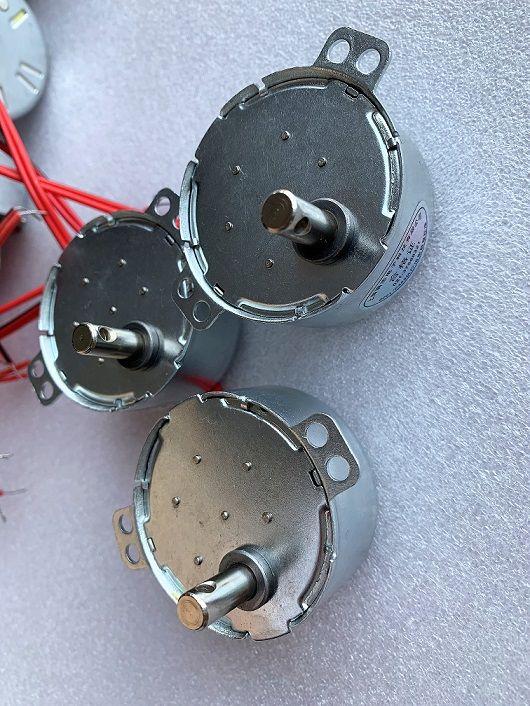上蜡同步电机 纺织配件 络筒机圆形电机 满志