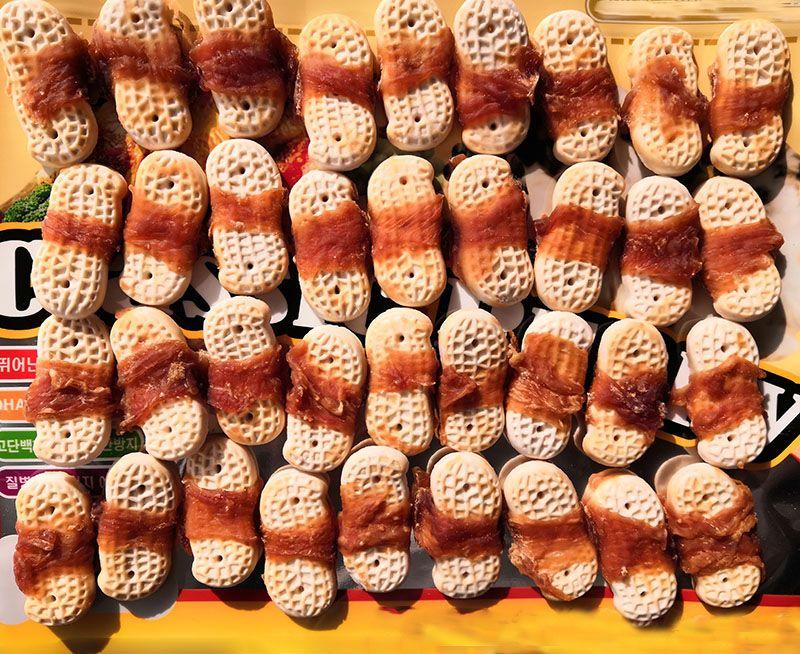 花生饼干绕鸡肉